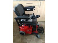 PRIDE GO ELECTRIC WHEELCHAIR CAN BE DISMANTLED EASILY IN GREAT CONDITION