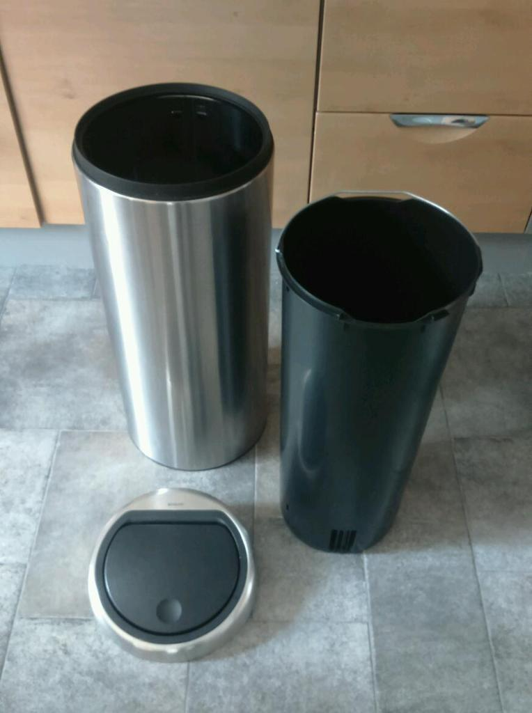 Brabantia stainless steel bin