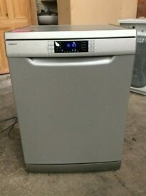 Full Size Kenwood A+ Class Silver Dishwasher In New Condition