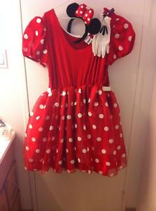 New Disney Minney Mouse Costume - Women`s XL