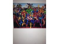 Cool marvel canvas