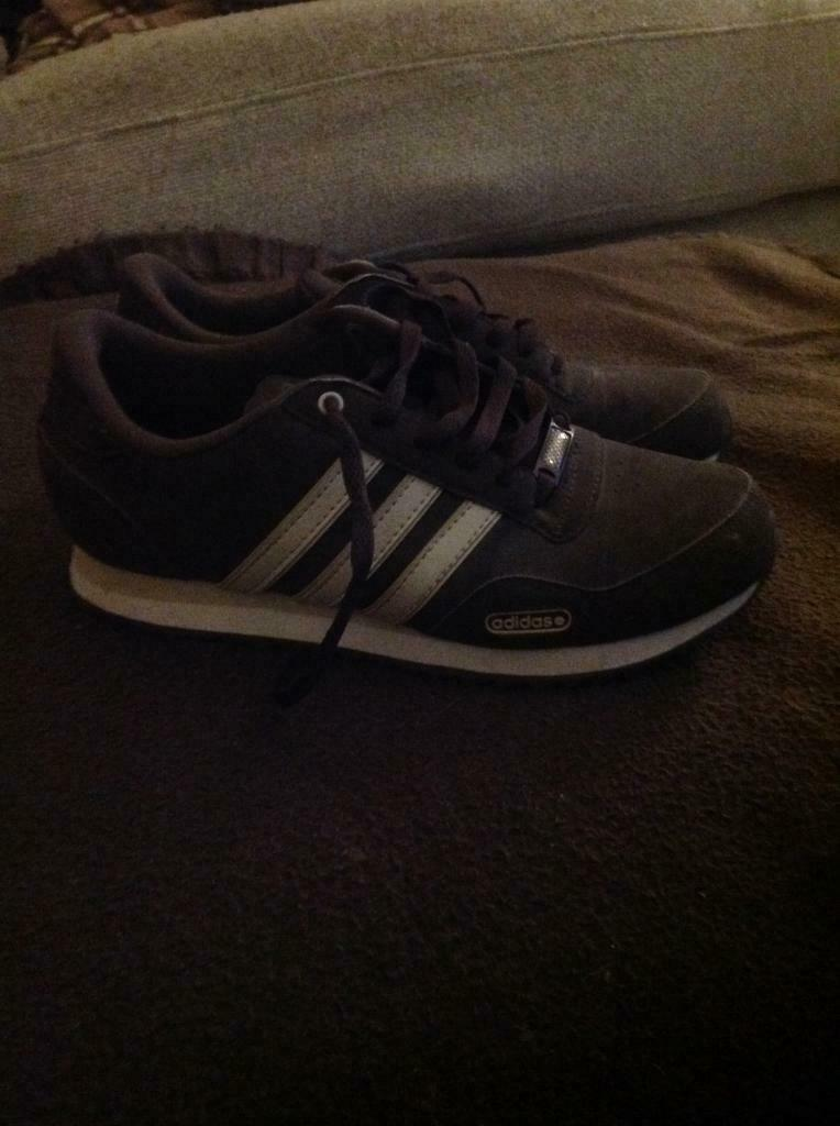 mens adidas NEO trainers, condition