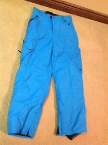 Snowboard pants (blue)  Size: Youth XL  (Brand name: Ripzone)