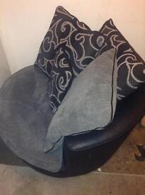 DFS large spinning chair