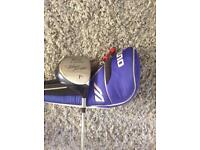 Mizuno T-zoid Blue Range driver in good condition.with orthotic head cover