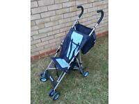 Old maclaren buggy - ideal for holiday travel