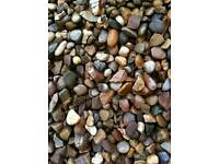 20MM GRAVEL/DECORATIVE PEA GRAVEL/ 1-2-3-10 TONNE LOAD /LOTS AVAILABLE/DONCASTER DELIVERY AVAILABLE/