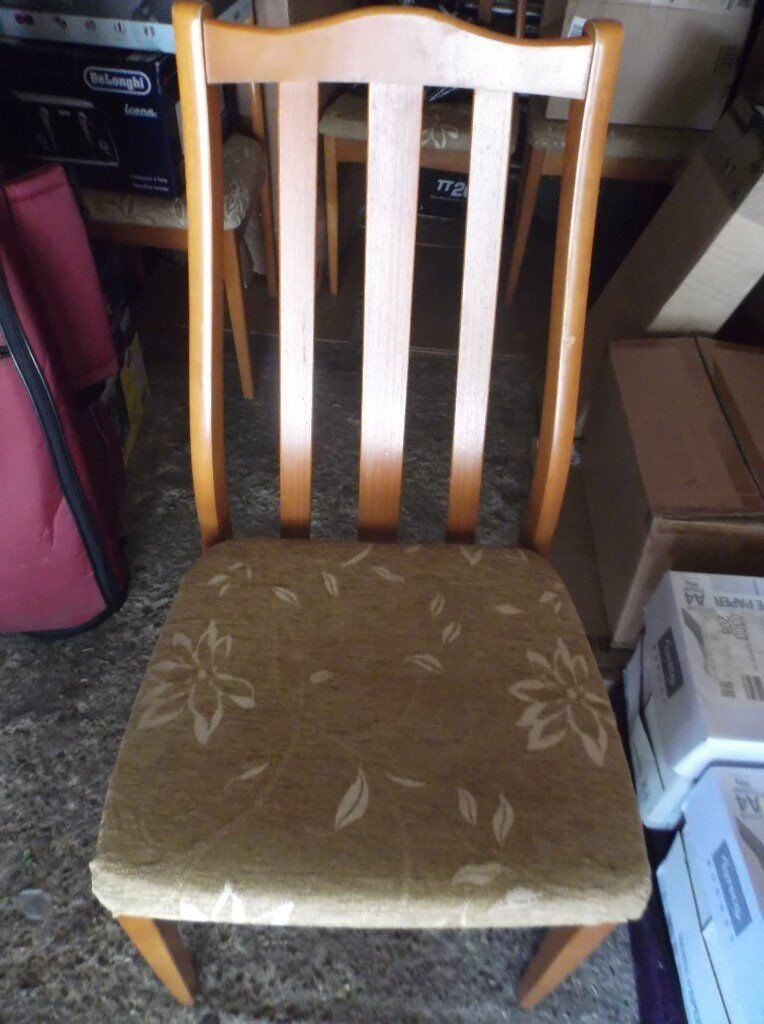 4 x dining chairs for sale