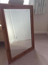 Bevel Glass Large Mirror