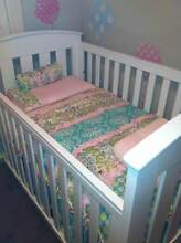 TWINS TWINS TWINS - 2 x BOORI COTS, 2 x MATTRESSES & CHANGETABLE Revesby Bankstown Area Preview