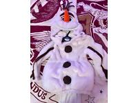 Olaf costume size 3-4 years. New without tags