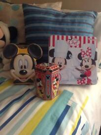 Mickey Mouse tins
