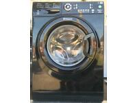Black Hotpoint 9KG A++ washing machine free delivery
