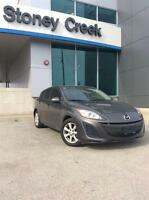 2011 Mazda MAZDA3 GX ONE OWNER CERTIFIED AND E-TESTED!