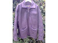 Genuine Leather Jacket (QUIKSILVER)