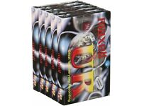 X5 Packs (25 Tapes) Maxell UR90 Audio Tape 90min Blank Media Cassette (5 Per Pack)