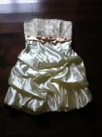 Beautiful formal dress suitable for xmas formal or prom!