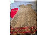 Asian ready made dress suit Eid/Party/Bridal/Wedding