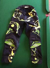 Motocross/Downhill bike protective trousers.