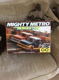 Mighty metro scalextrix retro 90s nostalgia game racing rally cars