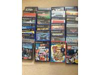 Play station 2 27 games lego Harry Potter Grand Theft Auto Star Wars