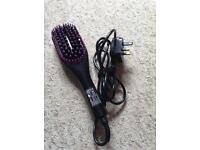 Straight wizard electric brush