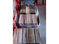 job lot of 600 house and trance records