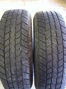 2 - Motomaster Total Terrain All Season Tires - 215/75 R15
