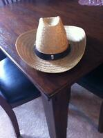 Country Straw Hat - New/Good Quality Size Large