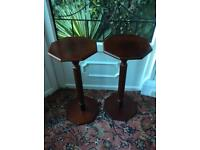 PAIR OF PLANT TABLES.