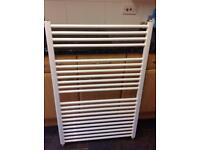 White towel radiator