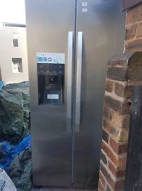 Fridge freezer selling for 400 if taken today