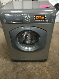 Hotpoint 7kg Ultima Silver Washer&Dryer