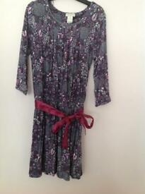 Monsoon purple dress age 7-8