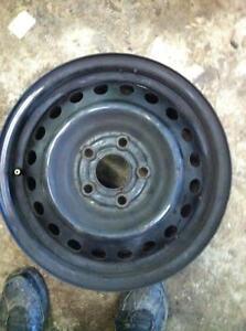 "4 - Honda Civic 15"" Steel Rims (5X100)"