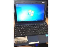 "MSI U135 10"" Netbook Computer"