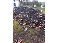 free for collection - 40 tons hardfill, hard fill, clay, stones, rubble etc