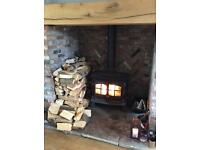 Top quality dried hardwood logs , stock up for winter