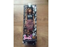 Barbie doll new still in box never used fashionistas