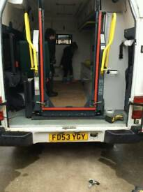 Ambulance tail lift