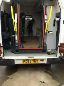 Ambulance tail lift