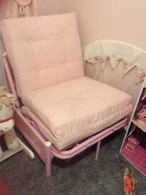 Lovely pink girly futon