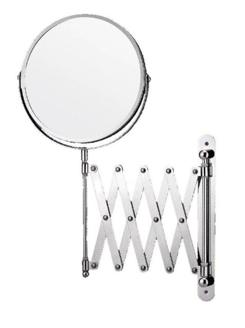 Sabichi Extendable Shaving Mirror Chrome