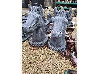 Pair of Horse Heads