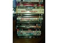 42 dvd's
