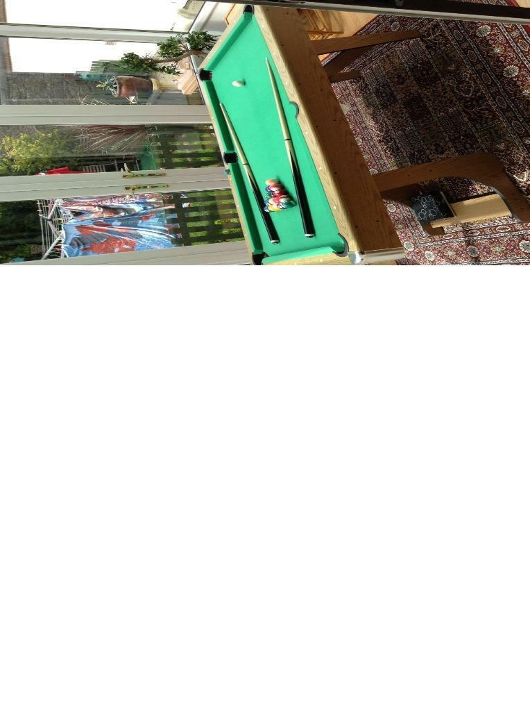 Debut 6ft Folding Pool Table