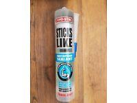 Evostick Sticks Like Clear Waterproof Sealant Box of 9