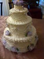 3 Tiered FAUX Wedding Cake