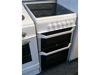 Indesit IT50CW Ceramic Hob Electric Cooker 50cm White £130