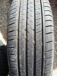 "4 - Honda Civic 15"" 5 Bolt (5X114.3) Steel Rims with Excellent 195/65 R15 Minerva All Season Tires"